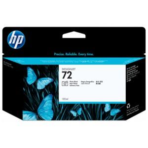 Cartouche d'encre HP Designjet 72 130 ml noir photo