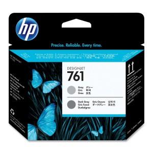 Tête d'impression HP Designjet 761 Gris / Gris foncée