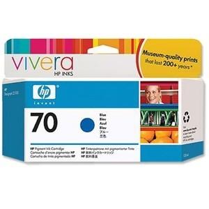 Cartouche d'encre HP Designjet 70 130 ml bleu
