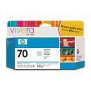 Cartouche d'encre HP Designjet 70 - Gris clair - 130 ml