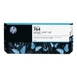 Cartouche d'encre HP Designjet 764 - Noir photo - 300ml