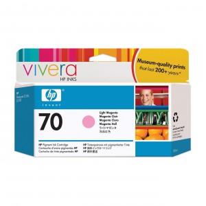 Cartouche d'encre HP Designjet 70 130 ml magenta clair
