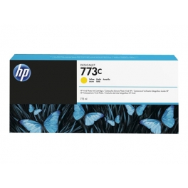 Cartouche d'encre HP Designjet 773C - Jaune - 775ml