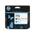 Tête d'impression HP Designjet 773C - Noir mat et Cyan