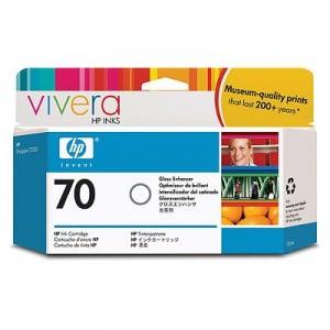 Cartouche d'encre HP Designjet 70 130 ml vernis brillant
