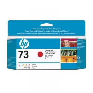 Cartouche d'encre HP Designjet 73 130 ml rouge chromatique