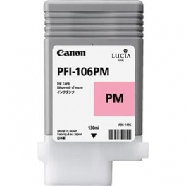 Cartouche d'encre PFI-106PM 130ml Photo magenta