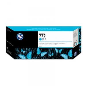 Cartouche d'encre HP Designjet 772 300 ml cyan
