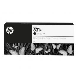 HP831C - Cartouche d'encre latex Noir 775ml
