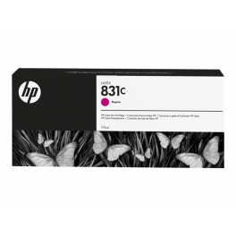HP 831C - Cartouche d'encre Latex Magenta 775ml