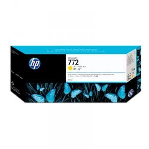 Cartouche d'encre HP Designjet 772 300 ml jaune