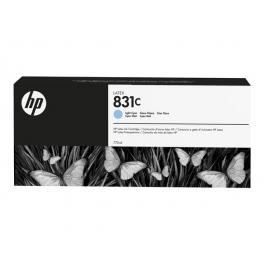 HP 831C - Cartouche d'encre Latex Cyan clair 775ml