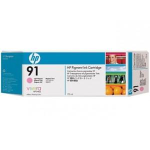 Cartouche d'encre HP Designjet 91 775 ml magenta clair