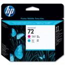 HP 72 tête d'impression cyan et magenta