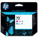 Tete d'impression HP Designjet 72 magenta et cyan