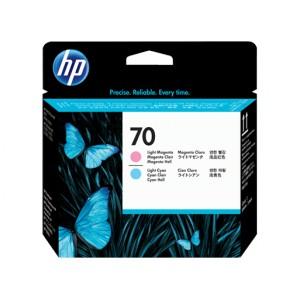 Tete d'impression HP Designjet 70 magenta clair et cyan clair