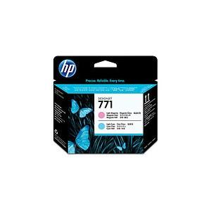 Tete d'impression HP Designjet 771 magenta clair et cyan clair