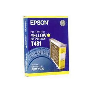 Encre jaune STYLUS PRO 7500