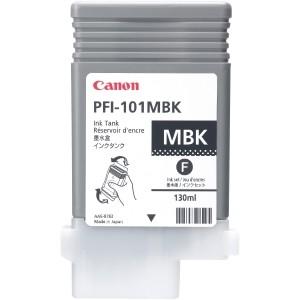 Cartouche d'encre PFI-101MBK 130ml Noire Mate