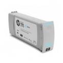 Cartouche cyan clair HP 771C - 775 ml