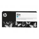 HP831C - Cartouche d'encre Latex Cyan 775ml