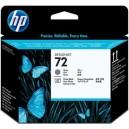 Tete d'impression HP Designjet 72 gris et noir photo